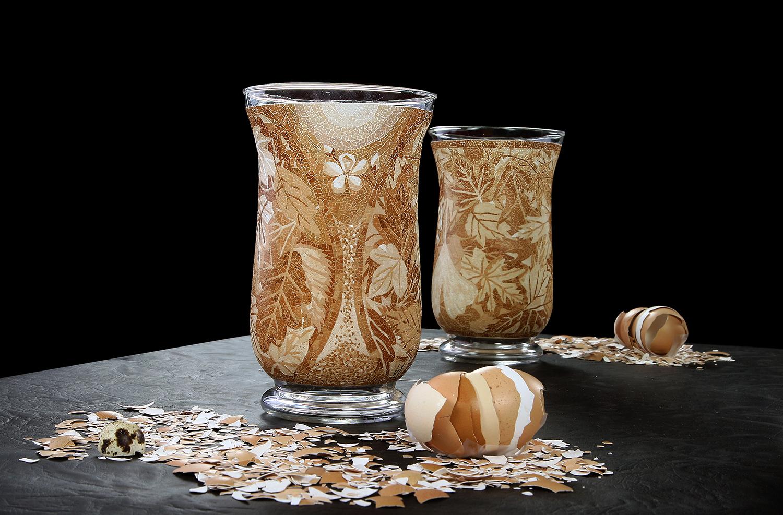 Seasons-eggshell-mosaic-vase